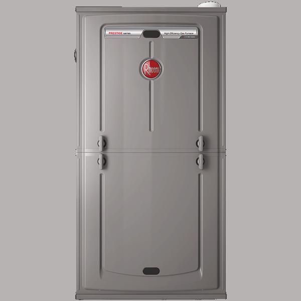 Rheem R98V gas furnace.