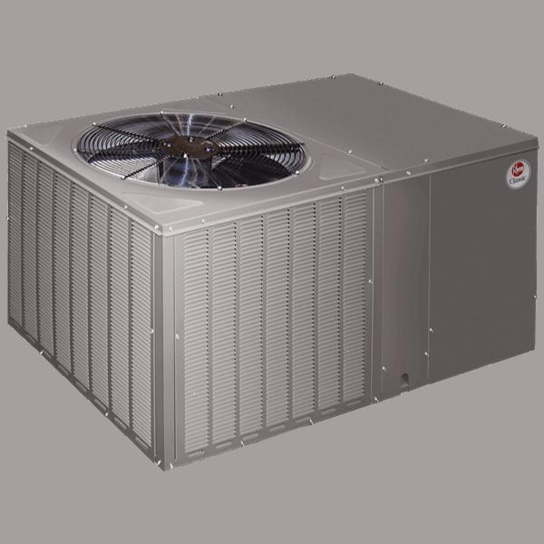 Rheem RQPM/RQRM packaged unit.
