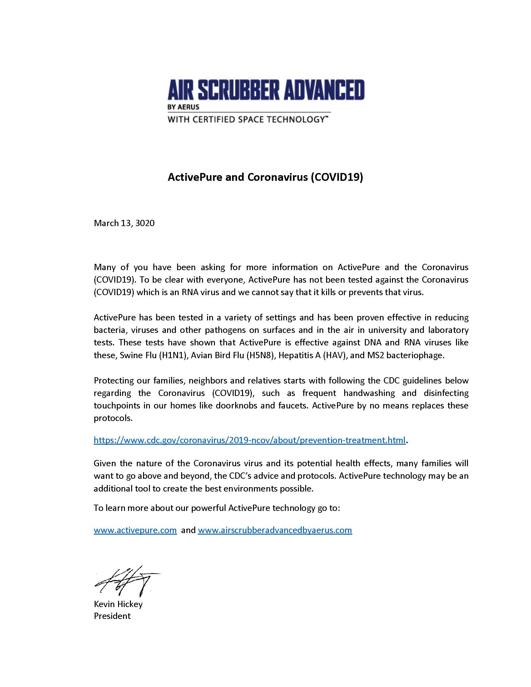 air scrubber letter.