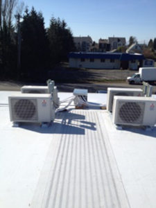 Multifamily Rooftop Installation DHP-1025