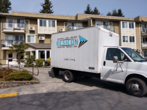 Resicon Truck On the Job-1025
