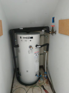 Sanden Heat Pump Water Heater Installed North Seattle-1025