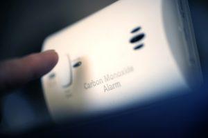 carbon monoxide.
